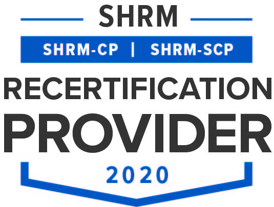 SHRM Recertification Credit Seal